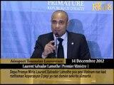 Depa Premye Minis Laurent Salvador Lamothe pou peyi Vietnam nan kad ranfòsman koperasyon 2 peyi yo