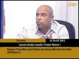 Reyaksyon Premye Minis Laurent Salvador aprè demisyon Minis finans ak Minis kominikasyon an.