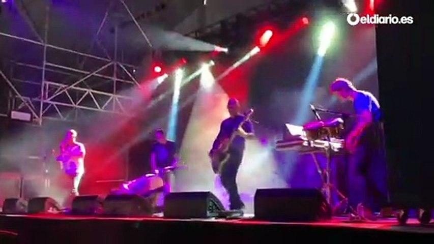 Viagra Boys, el grupo sueco que actuó en paralelo a Rosalía en el Mad Cool 2019