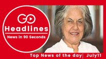 Top News Headlines of the Hour (11 July, 3:00 PM)