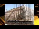 État d'avancement  travail de construction  de La Respectable Loge de l'Amitié des Frères Réunis.