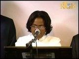 Seremoni enstalasyon Minis ekonomi ak finans la Marie Carmelle Jean Marie