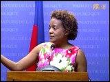 Rencontre entre le premier ministre Laurent S  Lamothe et l'envoyé spécial de l'UNESCO en Haïti Mich