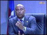 Rencontre entre le premier ministre Laurent S  Lamothe et le ministre de l'éducation nationale
