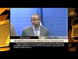 Le Ministre  de la Communication annonce des dispositions prises pour faciliter la population de men