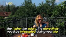 More Money, More Problems! Rich People More Likely to Deal With Work on Vacation
