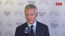 « La France est désormais le premier État à introduire en Europe une taxation des géants du numérique » , annonce Bruno Le Maire