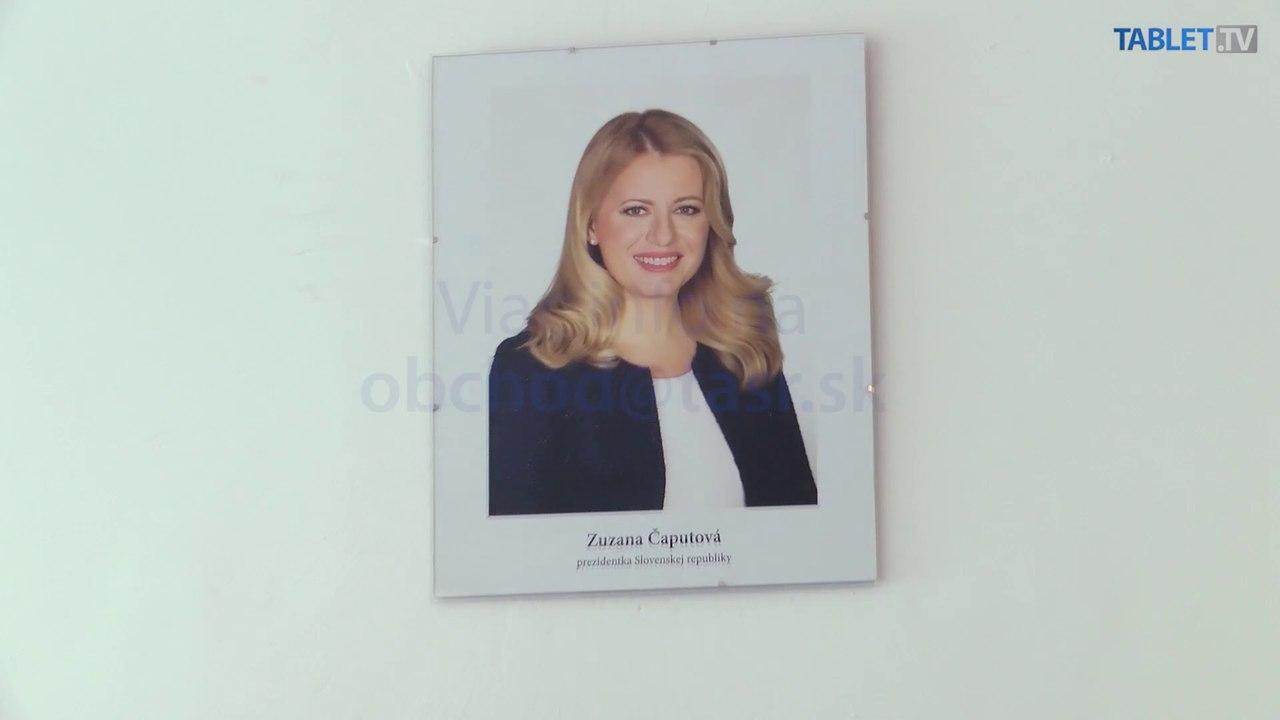 TASR ponúka oficiálny portrét prezidentky SR Z. Čaputovej