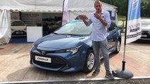 Toyota Corolla en direct du Salon de Val d'Isère