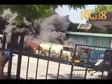 Gadel Janl Ye 13 Février 2019 / TNH / Des voitures et appareils incendiés