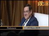 Visite de courtoisie de l'Ambassadeur du Chili en Haïti  au parlement haïtien