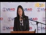 L'Ambassadrice des États-Unis en Haiti Michèle J. Sison participe au lancement d'un nouveau projet