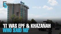 EVENING 5: LGE: EPF, Khazanah against Maju takeover