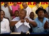 Rosemond Jean a déchiré le document de sortie de crise proposé par le secteur démocratique