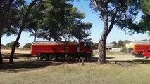 Retour sur l'intervention des sapeurs-pompiers avec les images du SDIS 13.