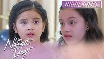 Mikmik gets shocked with Amber's revelation   Nang Ngumiti Ang Langit