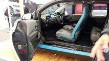 BMW I3 en direct du salon de Val d'Isere