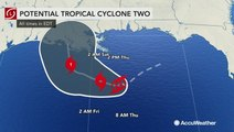 Bernie Rayno warns potential impact of Tropical Storm Barry outside Gulf Coast