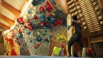 ESCALADE Coupe du monde à Chamonix : Romain Desgranges grimpe à la maison