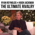 The Rivalry between Ryan Reynolds and Hugh Jackman