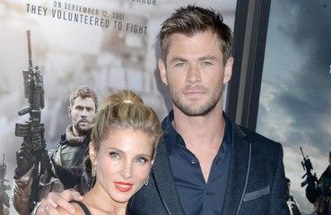 Chris Hemsworth se trató unas quemaduras con la crema más cara de Elsa Pataky