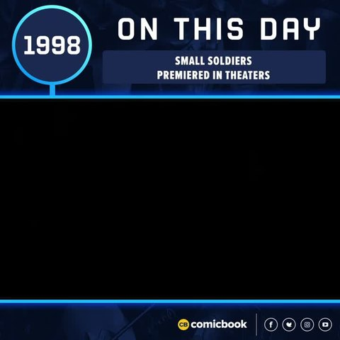 SMALL SOLDIERS Released in Theaters (July 10, 1998)