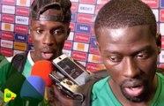 Réaction de Gana Gueye et Pape Alioune Ndiaye