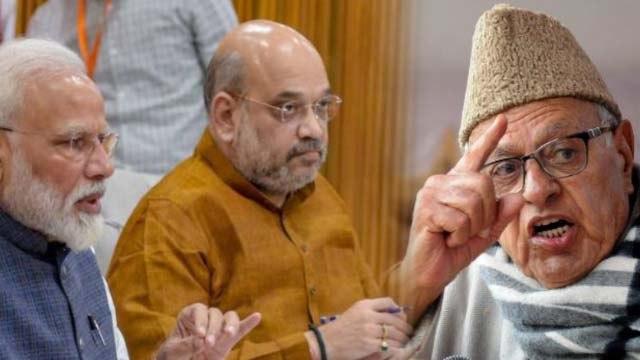 Kashmir विवाद पर PM Modi पर फिर भड़के Farooq Abdullah, देखें Video | वनइंडिया हिंदी