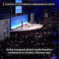 Amal Clooney: Duterte gov't after Maria Ressa over human rights abuses exposés
