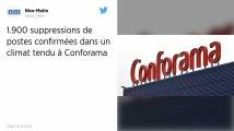 Conforama : Les 1900 suppressions de postes confirmées en comité central d'entreprise