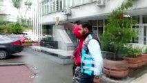 İstanbul'da benzin deposunun üstüne oturup tek teker üzerinde giden maganda yakalandı