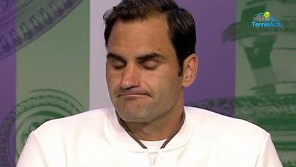Wimbledon 2019 - Roger Federer  sur le 40e Fedal  C'est cool de jouer contre Rafael Nadal
