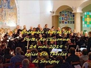 Concert du 24 mai 2019 - Chœur des Portes de l'Essonne