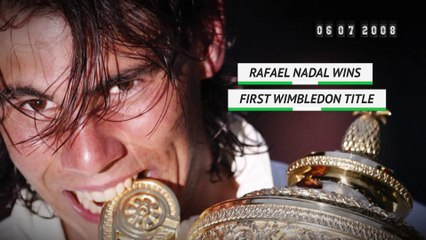 On this day Rafael Nadal wins first Wimbledon title