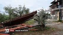 Grèce : au moins six touristes tués par une tornade