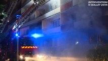 Les images de l'incendie spectaculaire à Noisy-le-Sec