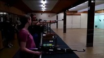 Dieuze : au centre aéré, les enfants s essaient au tir