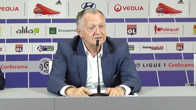 OL : Aulas et Juninho font le point sur le dossier Andersen