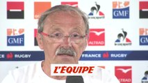 Brunel «On a une ambition forte» - Rugby - Bleus