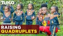 Raising quadruplets with Divina Joseph