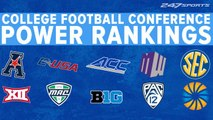 Ranking college football's conferences entering the 2019 season