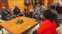 RTG - Audience du premier ministre avec Abbas Mahamat Tolli gouvernement de la banque centrale