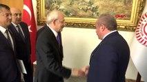 TBMM Başkanı Şentop, CHP Genel Başkanı Kılıçdaroğlu ve beraberindeki heyet kabul etti