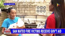 San Mateo fire victims receive gov't aid