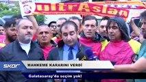 Ve mahkeme kararını verdi: Galatasaray'da seçim yok!