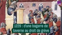 1229 : D'une bagarre de taverne au droit de grève