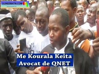 QNET contre Thiegboro Camara, la citation directe est annulée