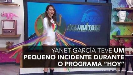 Calça de Yanet García rasga ao vivo e deixa seu bumbum à mostra 12766