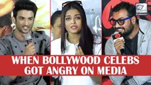 When Bollywood Celebs Got Angry On Media