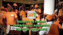 LA CAN EN OFF : Quarts de finale, Ivoiriens et Algériens partent confiants